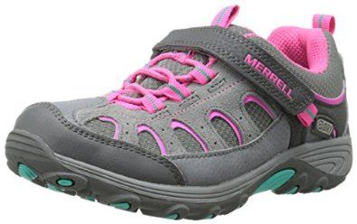 Merrell Chameleon A/C Waterproof, Girls' Trainers, MC53474, Grey (Grey/Pink), 10 UK Child: Amazon.co.uk: Shoes & Bags