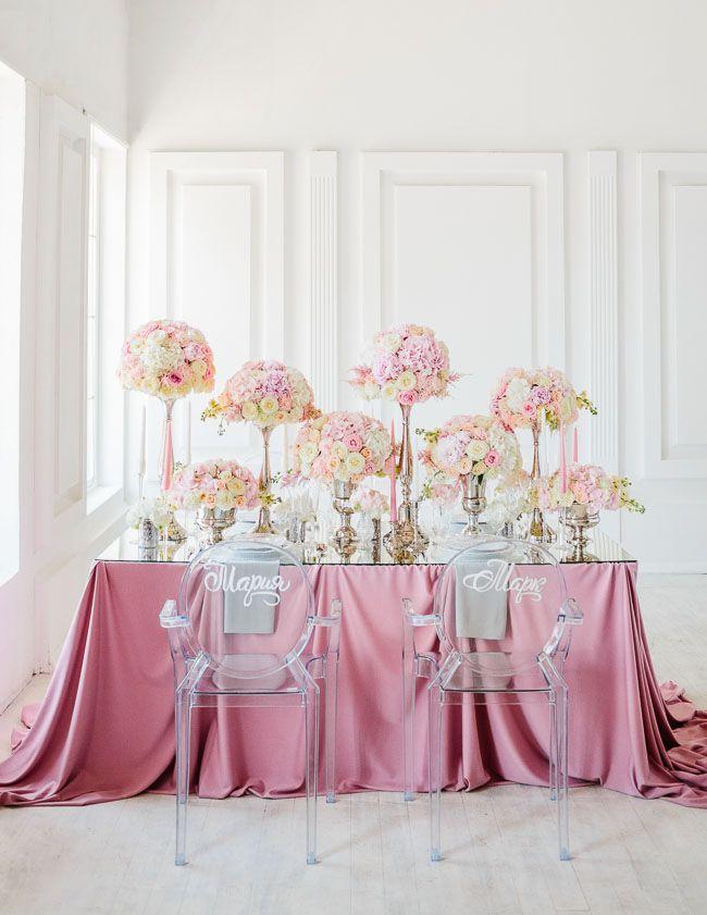 Украшение столов на свадьбе в Киеве — агентство по организации необычных праздников Make my day