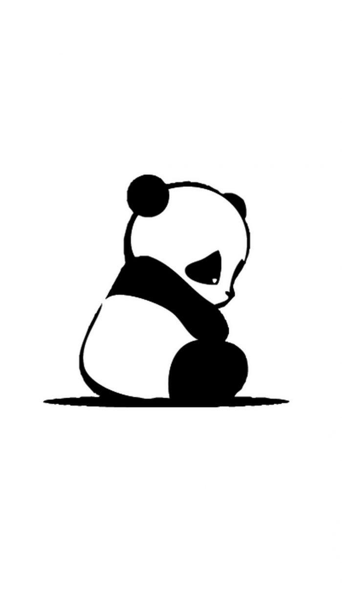 Cute Baby Panda Wallpaper For Mobile 1080x1920 Cute Panda Wallpaper Panda Drawing Panda Background