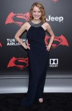 LAURA SLADE WIGGINS at Batman vs Superman: Dawn of Justice Premiere in New York