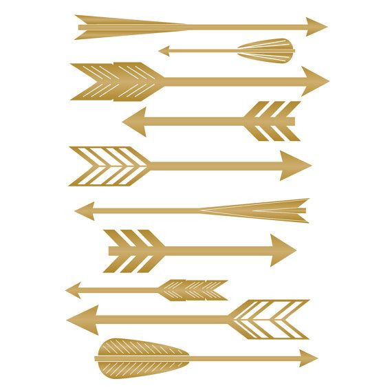 free feathered arrow clip art - photo #5