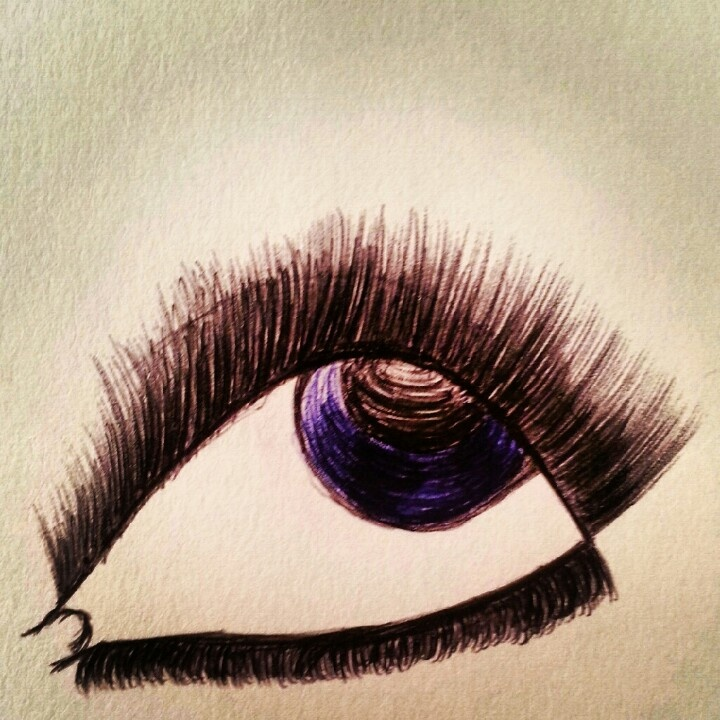 #Eye #Artist used a ball point pen. anything will make something.