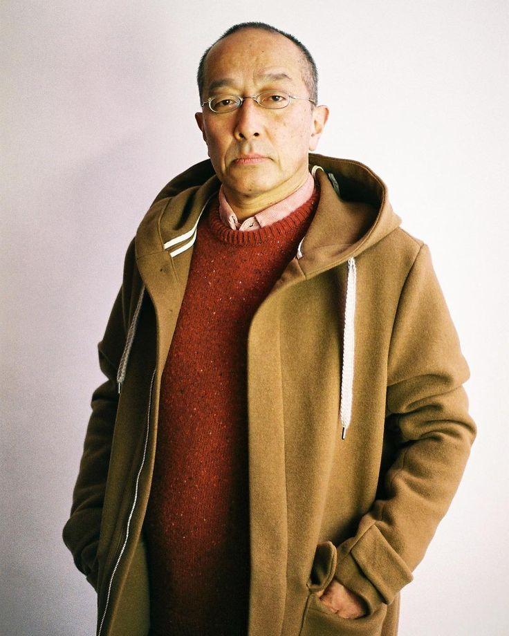 Shirt: Groom Shirt - #rose  Knitwear: Onion Crewneck - #red melange  Outerwear: Okayama Parka - #camel    #akindofguise #akog #madeingermany