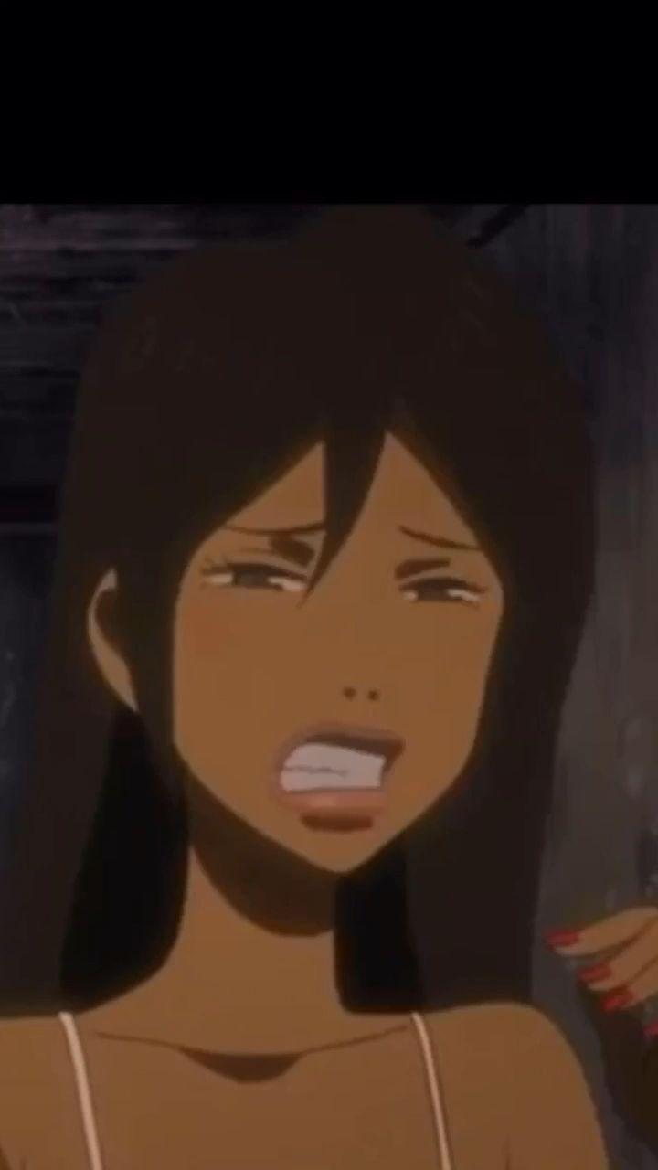 Aesthetic Anime Pfp Brown Hair In 2020 Girl Cartoon Characters Black Girl Cartoon Girl Cartoon
