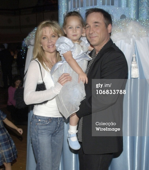 Lisa Hartman, daughter Lily Pearl and Clint Black during Swiffer Wetjet Presents the 'Cinderella' DVD Release and Royal Ball - After Party at The Waldorf Astoria in New York City, New York, United States. (Photo by Jamie McCarthy/WireImage)