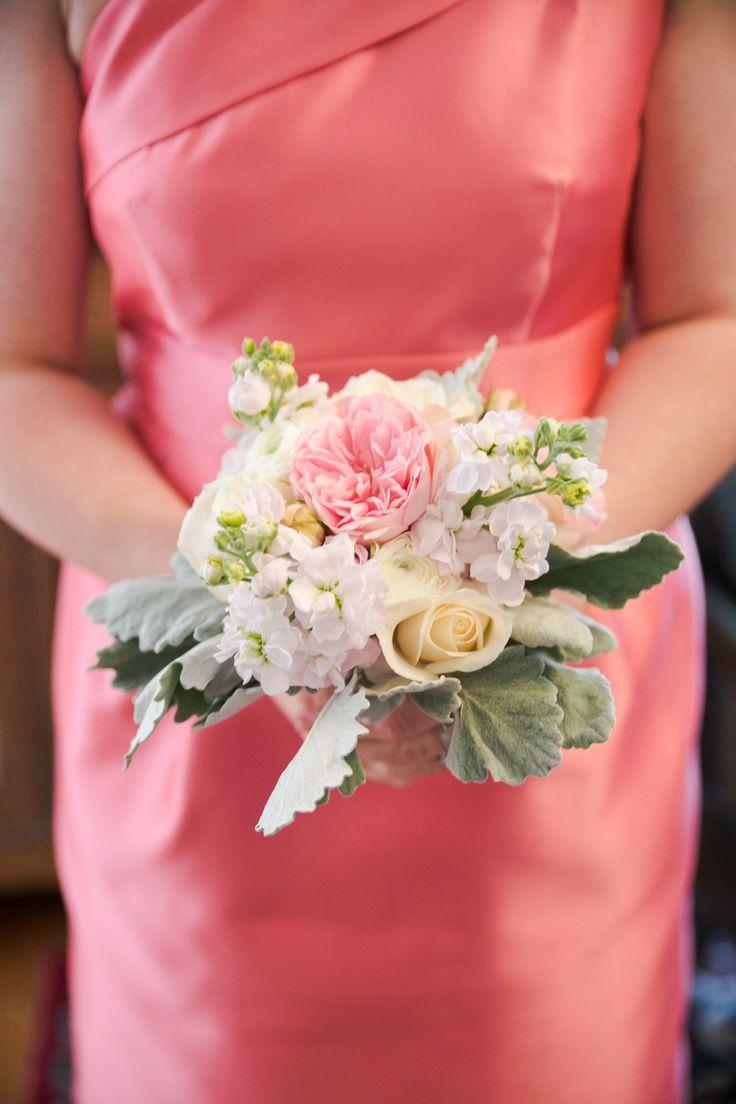 14 best flowers by jasmine images on pinterest flowers bridal bridesmaid flowers pink cream flowers flowers by verbena caroline joy photography coral dhlflorist Choice Image