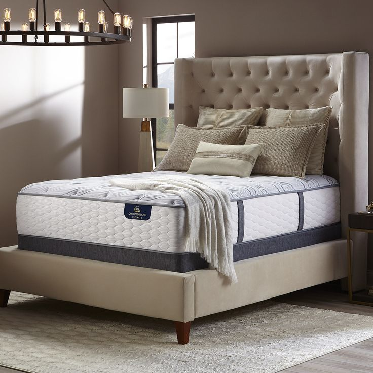 Serta Perfect Sleeper Norchester 12-inch Firm California King-size Mattress (Cal King), White