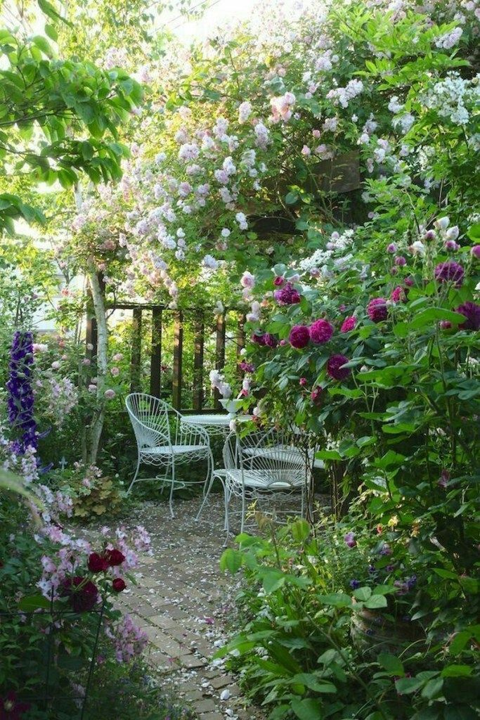 Beautiful Small Cottage Garden Design Ideas For Backyard