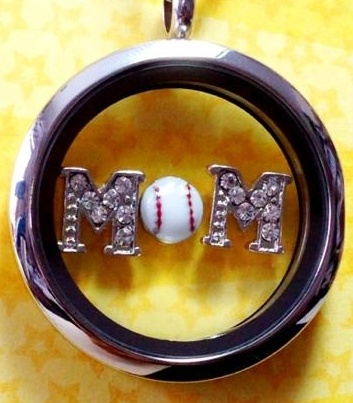 Origami Owl locket idea: Baseball Mom  Origami Owl Website:  terraroberts.origamiowl.com Email:  couponsaver777@hotmail.com Fan page:  https://www.facebook.com/origamiowl.terraroberts54529