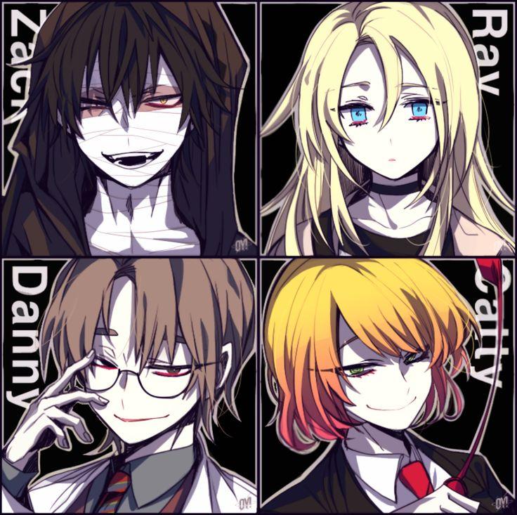 君が笑うまで Angel of Slaughter Fanart Ray, Zack, Danny, and Cathy