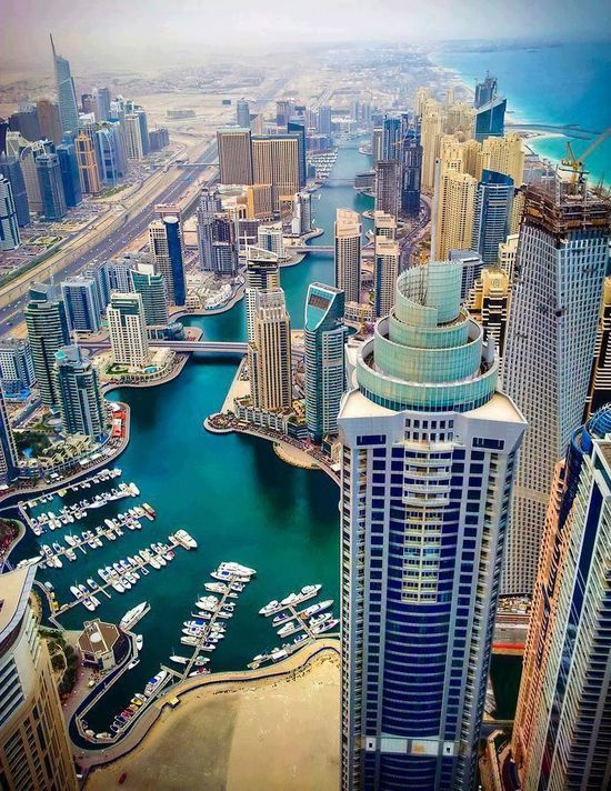 Great View of Dubai - went here once. But only to the airport and that was cool.