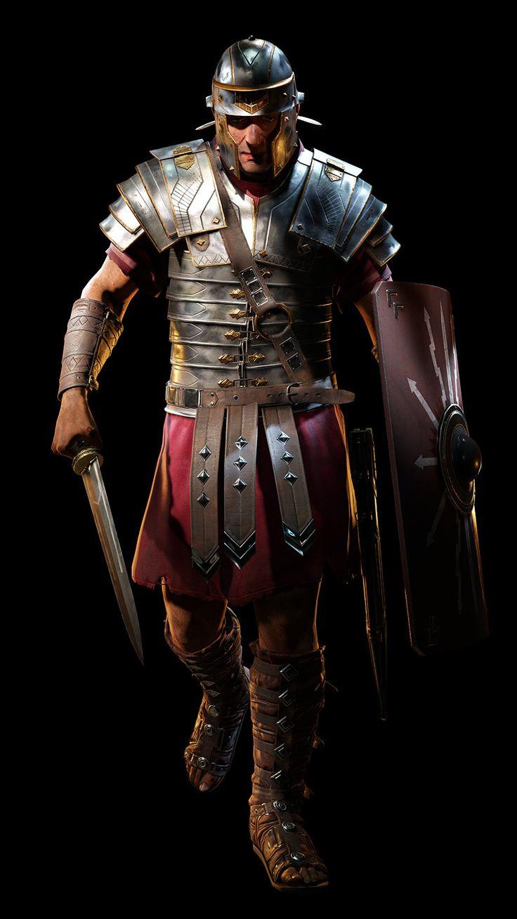 ArtStation - Ryse son of Rome, Abdenour bachir