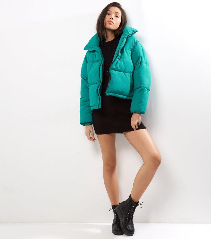 Green Puffer Jacket | New Look