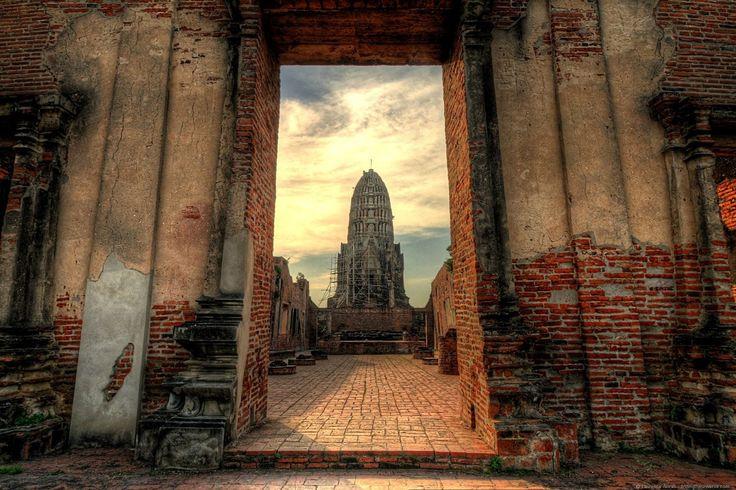Ayutthaya ruins outside of Bangkok