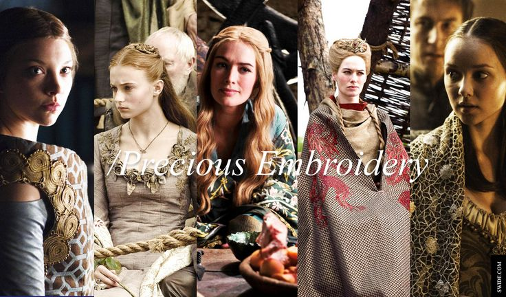game of thrones female characters names