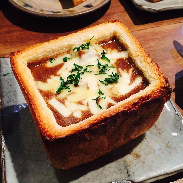 パンの中にチーズがとろ~り!「食パンチーズフォンデュ」兵庫県2016