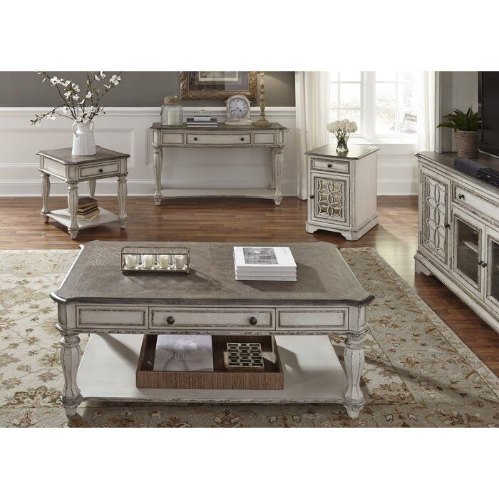 Tavant 4 Piece Coffee Table Set In 2020 With Images 4 Piece Coffee Table Set