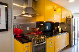Sua cozinha é pequena? Veja 40 ideias para decorá-la! https://www.homify.com.br/livros_de_ideias/1106567/