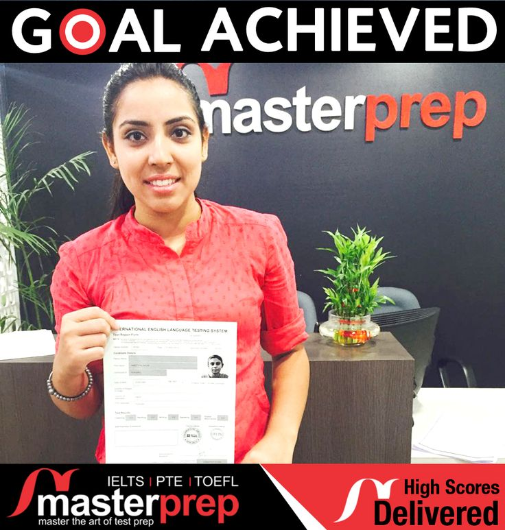Brilliant performance of our stidents in various #EnglishProficiencyTests like #IELTS #TOEFL and #PTEAcademic speak about the focused efforts of #MasterPrep faculty. MasterPrep is North India's leading institute for #IELTS_preparation with highest success rate. Meet us up for making your Global Education dreams a reality! www.masterprep.in