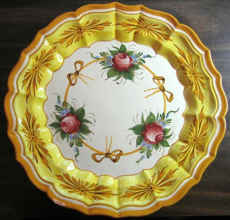 121 best Italian Made in Italy Decorative Dishes images on Pinterest ...