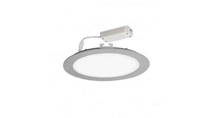 Kanlux ROUNDA LED panel 13W ezüst IP44 hideg fehér 173 mm,Beépíthető / süllyeszthető led panelek,7.490 Ft