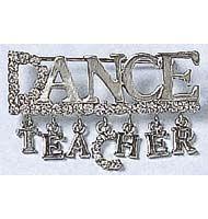 2633 Dance Teacher Word Pin