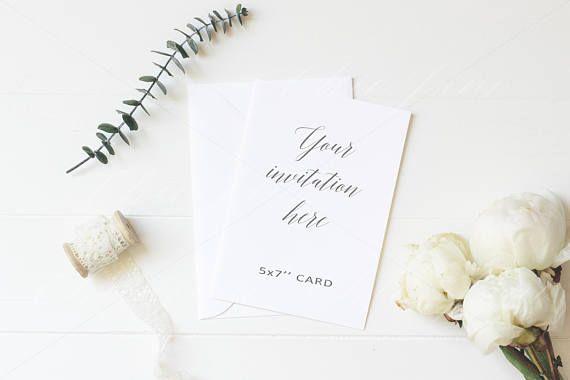Stationery Mockup, Card Mockup, Wedding Mock up, Invitation Mockup, Floral Mockup, Feminine Mockup,  Styled Stock Photography, print flowers