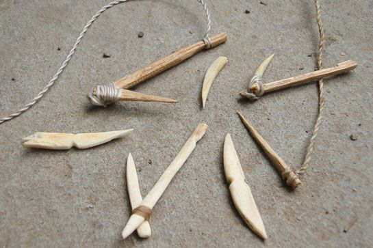 Survival Skills: Make Your Own Primitive Fish Hooks