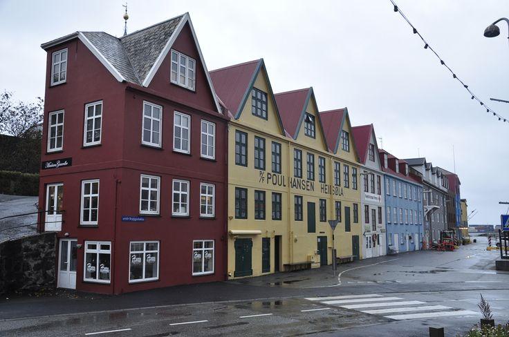 Undir Bryggjubakka street, Torshavn