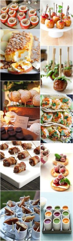 fall wedding food ideas-fall wedding appetizers