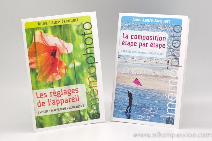 """Les """"Mémo Photo"""" d'Anne-Laure Jacquart sont deux petits livrets souples qui tiennent dans la poche ou le sac, et constituent un aide-mémoire photographique"""