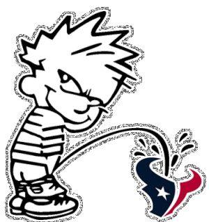 Houston Texans Funny Pictures | Calvin Peeing On Houston Texans :: Sports :: MyNiceProfile.com
