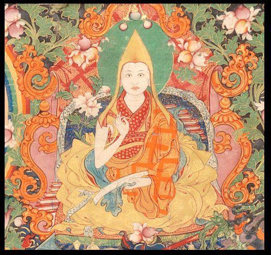 Lukisan yang dipercaya merupakan penampilan Dalai Lama Ke-9 yang wafat di usia 8 tahun.