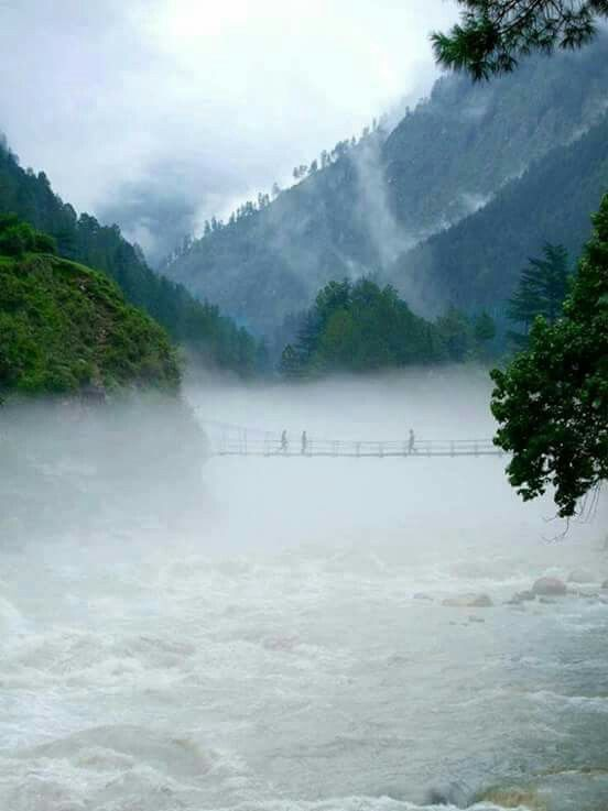 Kasol in Himachal pradesh is in parvati valley along the river parvati..