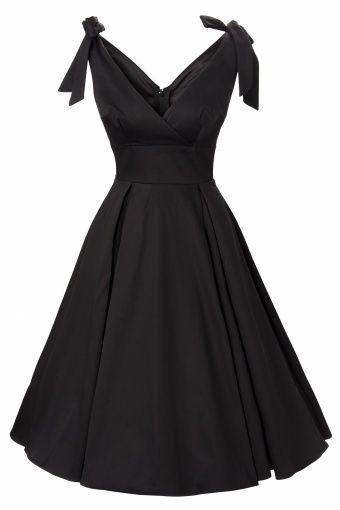 50s Tie Me Up dress