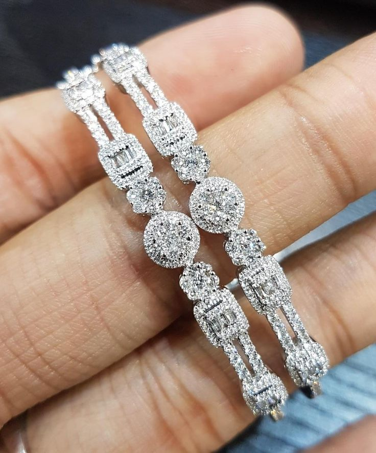 These glittering bracelets are crafted from white gold and baguette diamonds to add charm and class to your look. With twinkling white diamonds, this breathtaking bracelet will enhance the appeal of any occasion by Aksharchoudreefinejewellery . . . . #acfj #jotd #glittering #bracelets #crafted #white #gold #baguette #diamonds #charm #class #twinkling #breathtaking #enhance #appeal #anyoccasion #beautiful #creative #superior #quality #couture #delightful #superb #forher #style #perfect #dubai