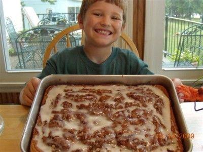 honey bun cake 013