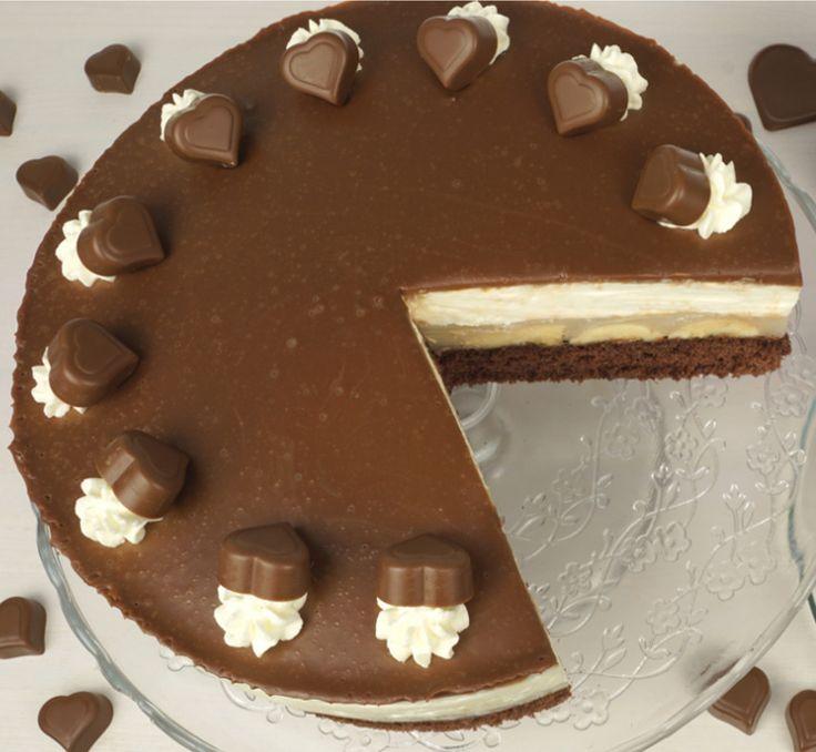 Milka-Herz-Torte für besondere Anlässe von Evas Backparty (chocolate cake video)