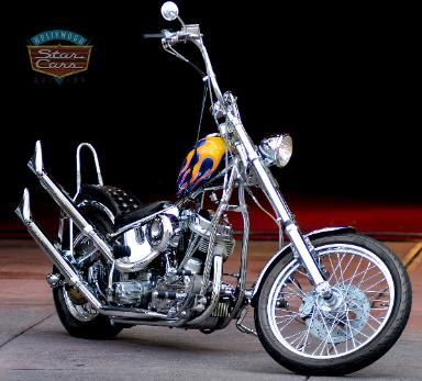 The material objects that I like is the Harley davidson motorcycle.