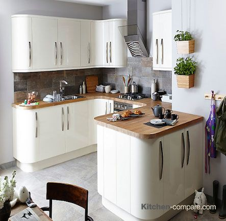 17 Best Images About Contemporary Cream Gloss Kitchens On Pinterest Warm Satin And Walnut