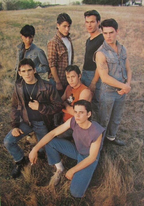 The Outsiders. One of the best books/movies ever