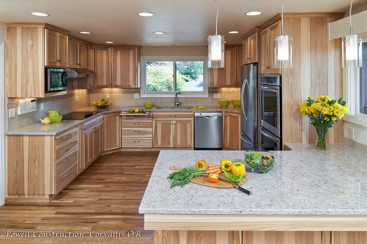 15 Best Rustic Kitchen Cabinet Ideas And Design Gallery Discover Best Photos And Galleries About Hickory Kitchen Cabinets New Kitchen Cabinets Hickory Kitchen