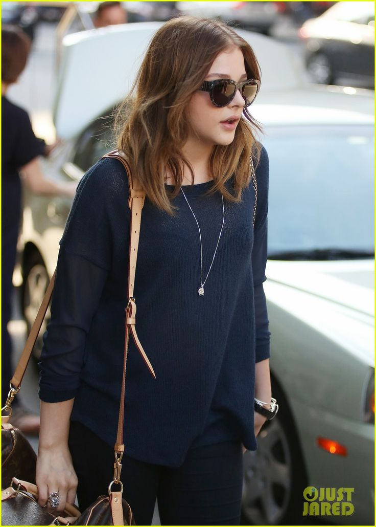 Chloe Moretz Wraps Filming 'The Equalizer'!   Chloe Moretz Photos   Just Jared