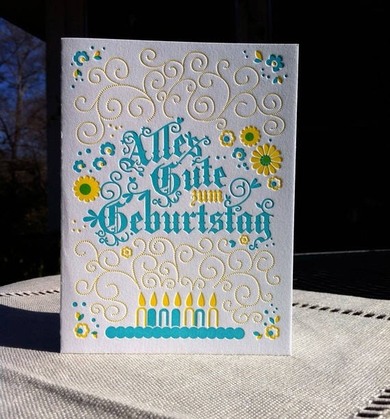1000 images about german birthday cards on pinterest