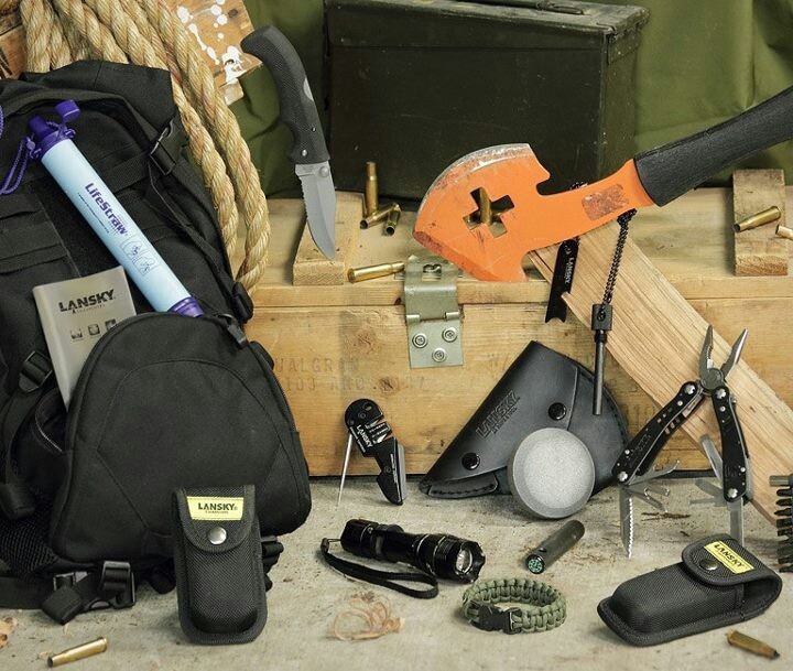 Essential zombie survival kit.