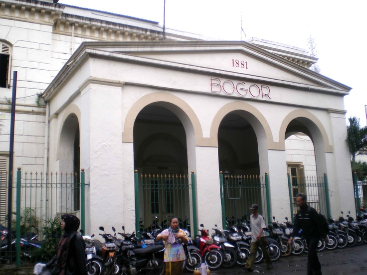 Bogor Train station since 1881