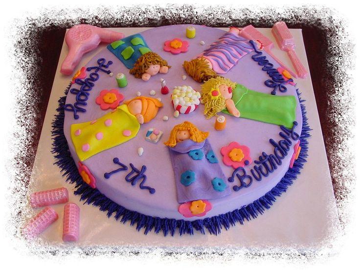 Slumber Party Cake Images : Slumber party cake cakes Pinterest