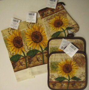 Sunflower kitchen fall sunflower kitchen for Sunflower kitchen ideas