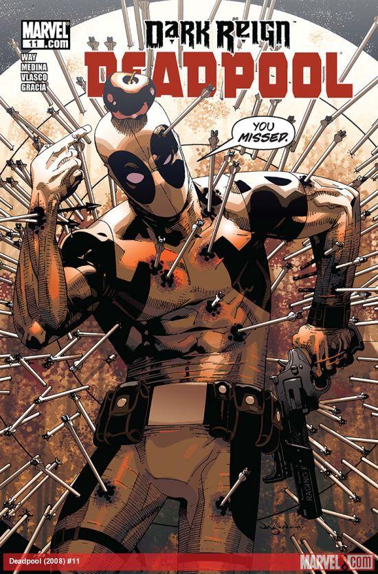 Resultado de imagem para deadpool (2008) # 01