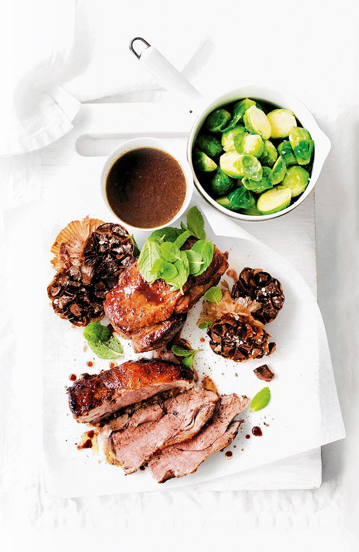 Give succulent lamb an extra edge with a sweet and sticky marinade that will make for a delicious gravy.